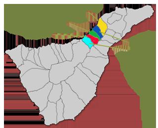 Municipios de la Mancomunidad del Nordeste de Tenerife