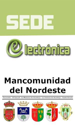 Sede Electrónica de la Mancomunidad del Nordeste